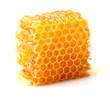 Leinwandbild Motiv Honeycomb in closeup
