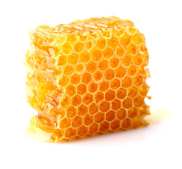 Honeycomb in closeup