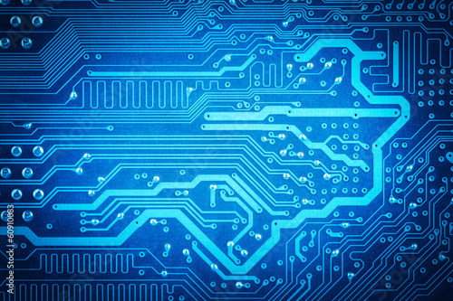 circuit board background - 60910083