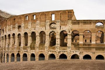 The colleseum, Rome, Italy.