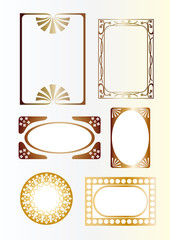 Frame of gold
