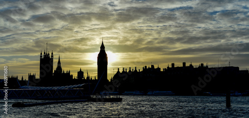 Big Ben during Sunset, London, UK