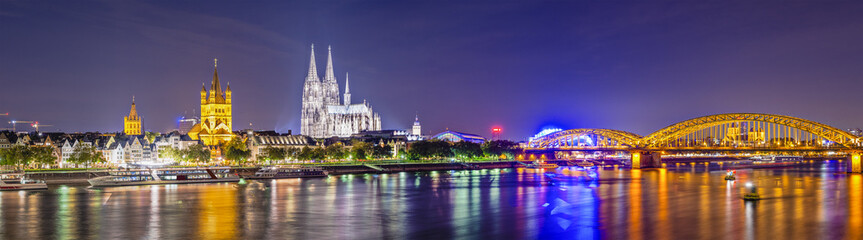 Cologne, Germany Panorama