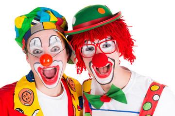 fröhliche clowns