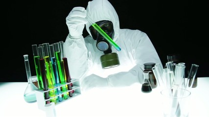 Hazardous Chemical Biohazard Chemist Research