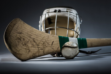 Hurling Equipment in Studio