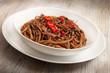 spaghetti cioccolato e peperoncino