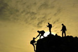 dağcı yardımlaşma ve zirve keyfi