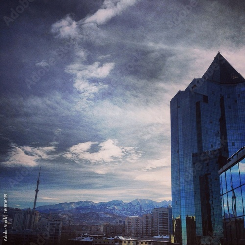 Almaty urban view
