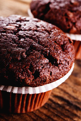 Chocolate muffin
