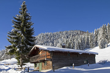 Gabrielalm im Winter
