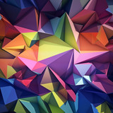 Abstract geometric background - 60918280
