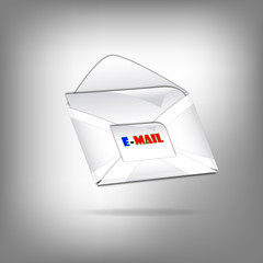 3d email letter perspective