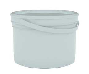 Container paint plastic