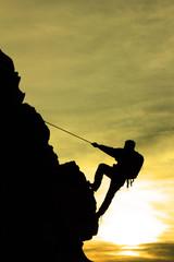 ip tırmanışı&dağcı
