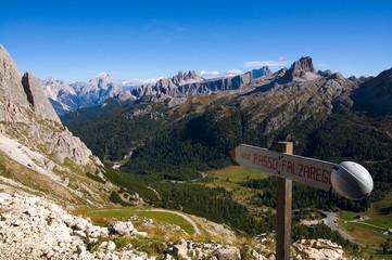 Falzaregopass - Dolomiten - Alpen