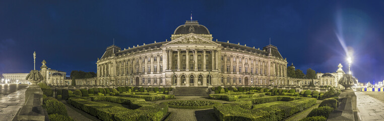 Royal Palace of Brussels, Belgium.