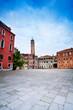 sant'angelo square in Venice