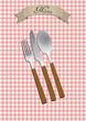 menu cutlery