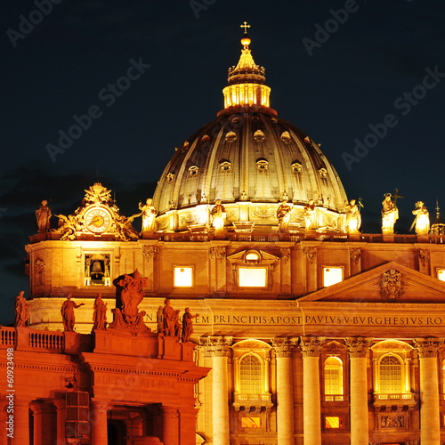 Basilica of Saint Peter in Vatican City, Italy