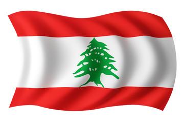 Lebanon flag - Lebanese flag