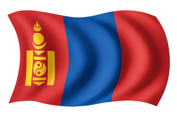 Mongolia flag - Mongol flag