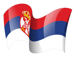 Serbia flag - Serbian flag