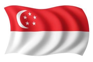 Singapore flag - Singaporean flag