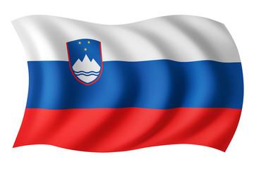 Slovenia flag - Slovenian flag