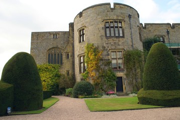 Chirk castle, Wrexham, Wales, England
