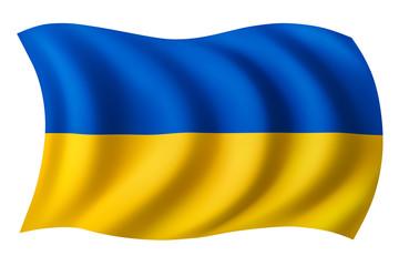 Ukraine flag - Ukrainian flag