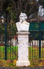 Half-length sculpture of Salvatore Greco dei Chiaramonte