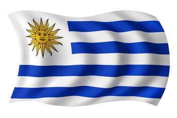 Uruguay flag - Uruguayan flag