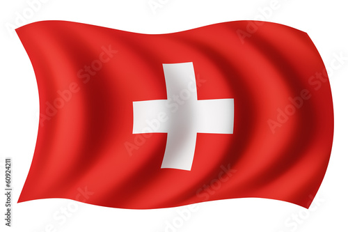 Switzerland flag - Swiss flag