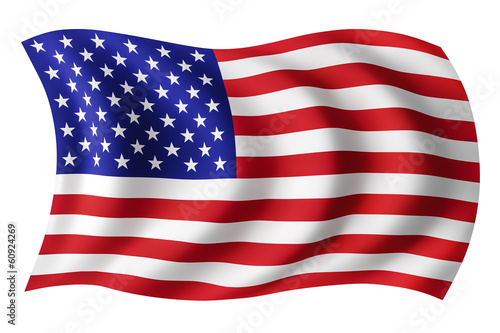 USA flag United States - American flag
