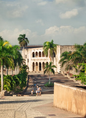 Alcazar de Colon in Santo Domingo, Caribbean