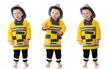 Three Expressive Little Firemen
