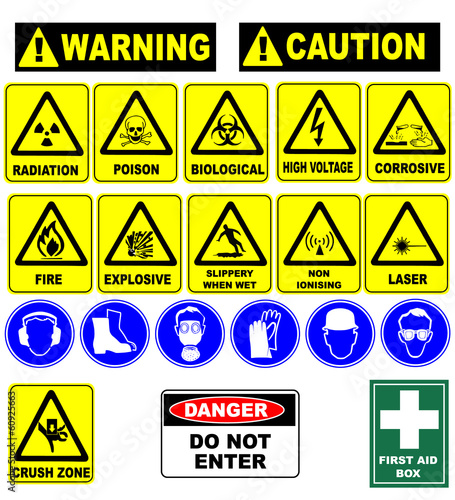 caution icon pack