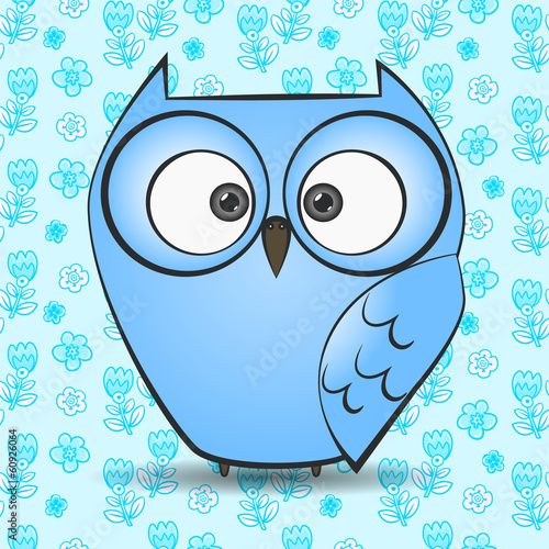 illustration of a owl