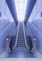 Escalator on Railwaystation