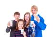 Teenager mit Taschengeld