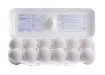 Dozen of Eggs in carton