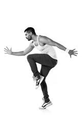 Modern dance artist