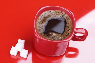 Coffe and sugar