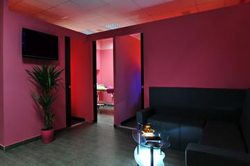 Waiting room beauty salon