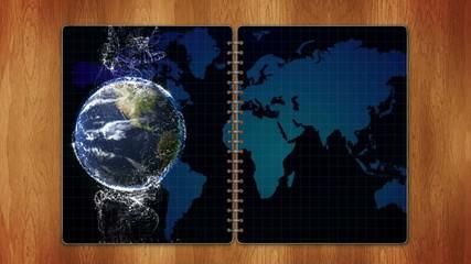 Earth in Book, Loop