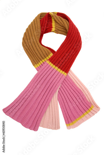 long variegated scarf