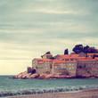 Sveti Stefan, small islet and resort in Montenegro
