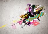 Fototapeta Graffiti image