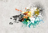 Graffiti background - 60931279